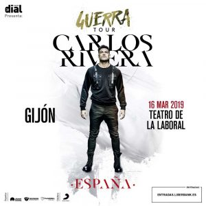 Carlos Rivera, Gijón @ Teatro Laboral