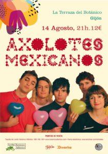 Axolotes Mexicanos @ La terraza del Botánico