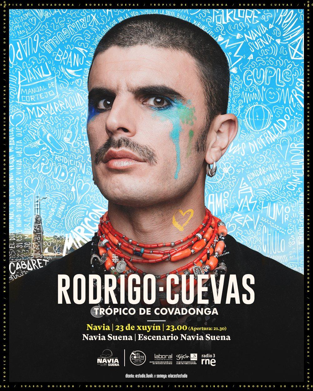 Rodrigo Cuevas. Festival Navia Suena